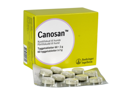 CANOSAN TYGGETABLETTER