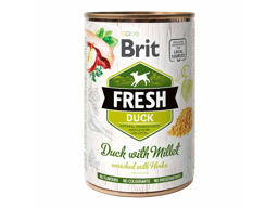 BRIT FRESH DUCK & MILLET HUNDEFODER