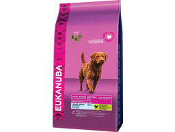 EUKANUBA ADULT WEIGHT CONTROL LARGE HUNDEFÔR
