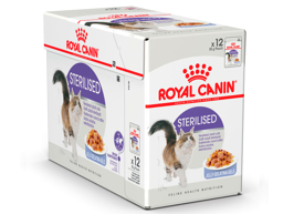 ROYAL CANIN STERILISED I GELÉ KATTEMAD