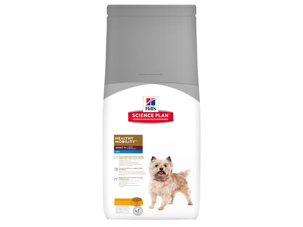 HILL'S SCIENCE PLAN CANINE ADULT HEALTHY MOBILITY MINI WITH CHICKEN KOIRANRUO