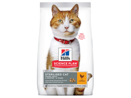 HILL'S SCIENCE PLAN STERILISED CAT YOUNG ADULT CHICKEN KATTMAT