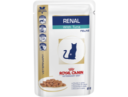 ROYAL CANIN VETERINARY DIET FELINE RENAL WITH TUNA KATTEMAD