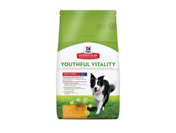 HILL'S SCIENCE PLAN CANINE ADULT 7+ YOUTHFUL VITALITY MEDIUM BREED WITH CHICKEN & RICE HUNDFODER