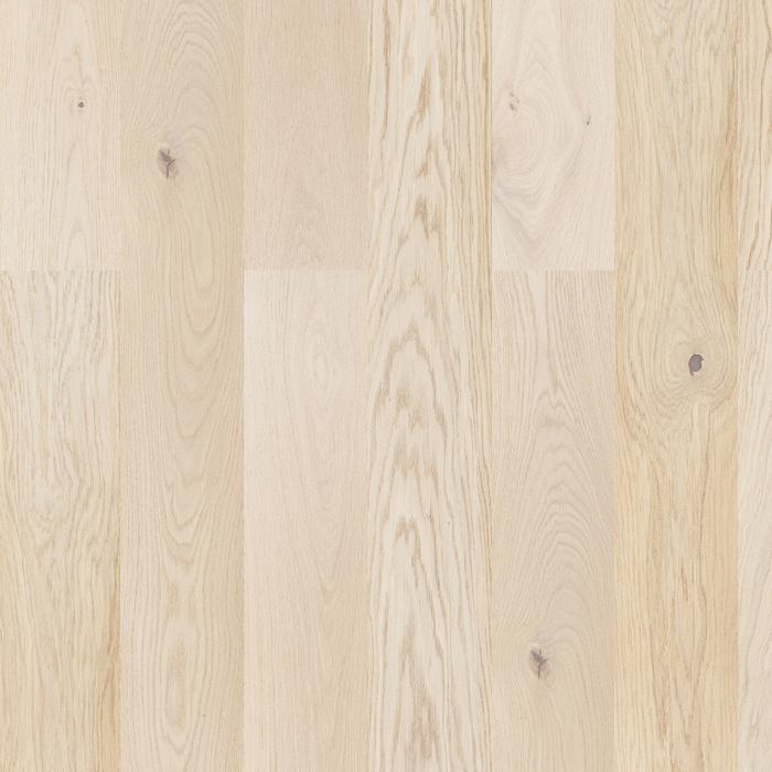 Plank Eg Accent Børstet Hvid