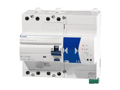 Fejlstrømsafbryder DRCCB5 ST 040-4/0,03-A, 7M  - Selvtest