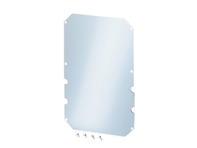 Montageplade t/Mi3-4, 265x415x4