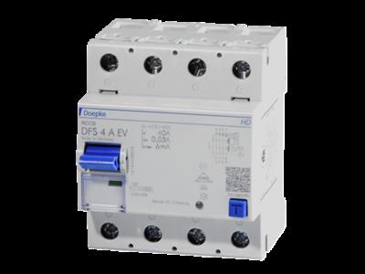 DFS4 063-4/0,03-A EV HD 60°C, 4M  4P