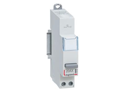 CX3 1 funktions trykknap 20A/250V,