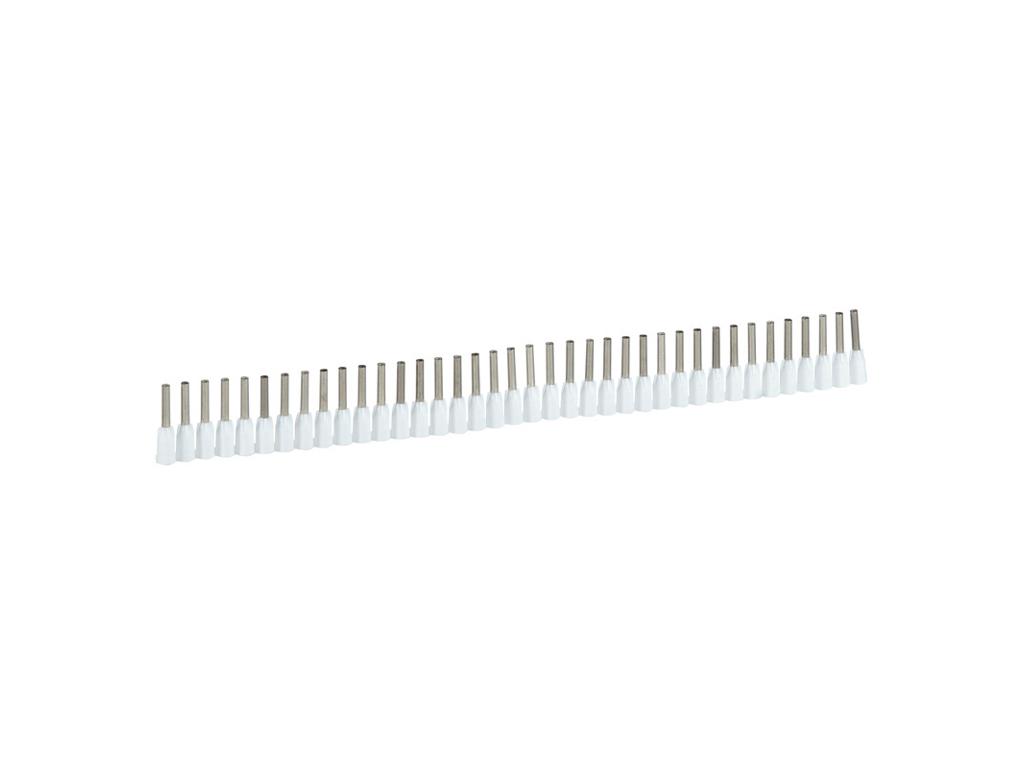 Tylle 0,5mm² Hvid på bånd