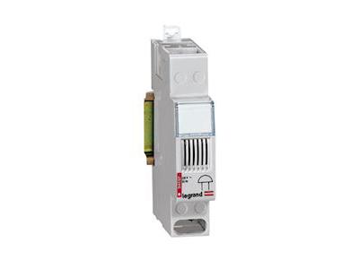 Ringeklokke 230V for DIN-Skinne