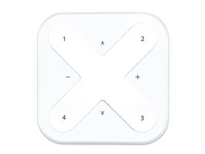 Casambi Xpress trådløst panel hvid