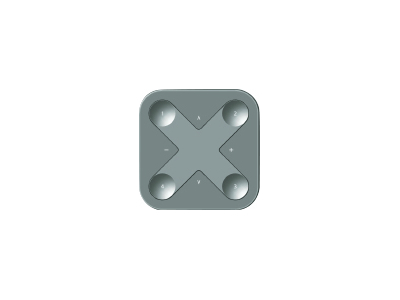 Casambi Xpress trådløst panel Sort