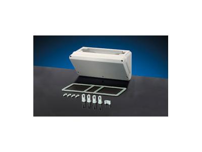Skrå kasser for CEE-stik og tryk