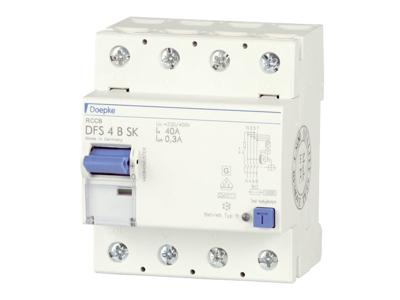 Fejlstrømsafbryder (RCD) Type B - AC/DC
