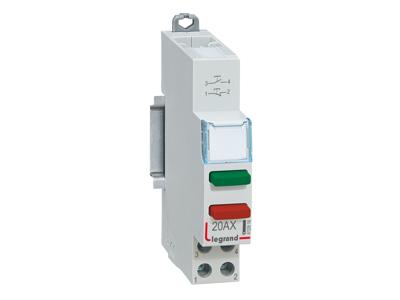 CX3 2 funktions pulstrykknap 20A/250V 1M